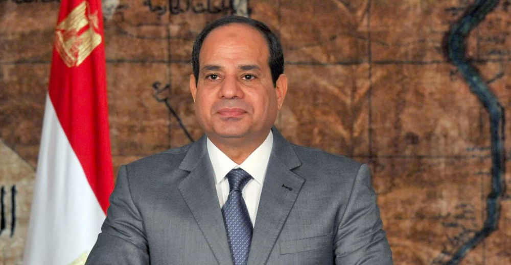 Présidentielle 2018, Abdel Fattah al-Sissi candidat — Egypte
