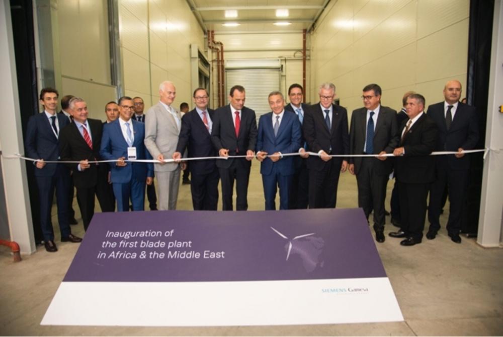 Siemens Gamesa inaugure la première usine de pales en Afrique — Industrie éolienne