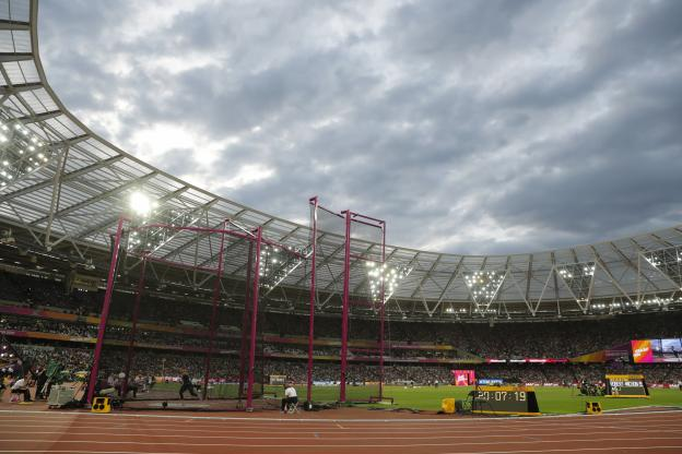Première édition d'une Coupe du monde en juillet — Athlétisme