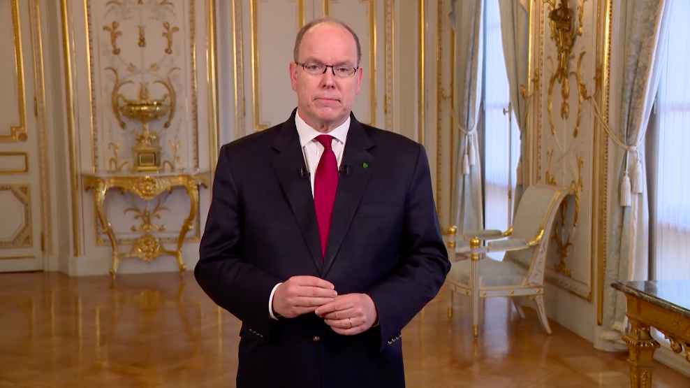 Le prince Albert II testé positif au Covid-19 — Principauté de Monaco