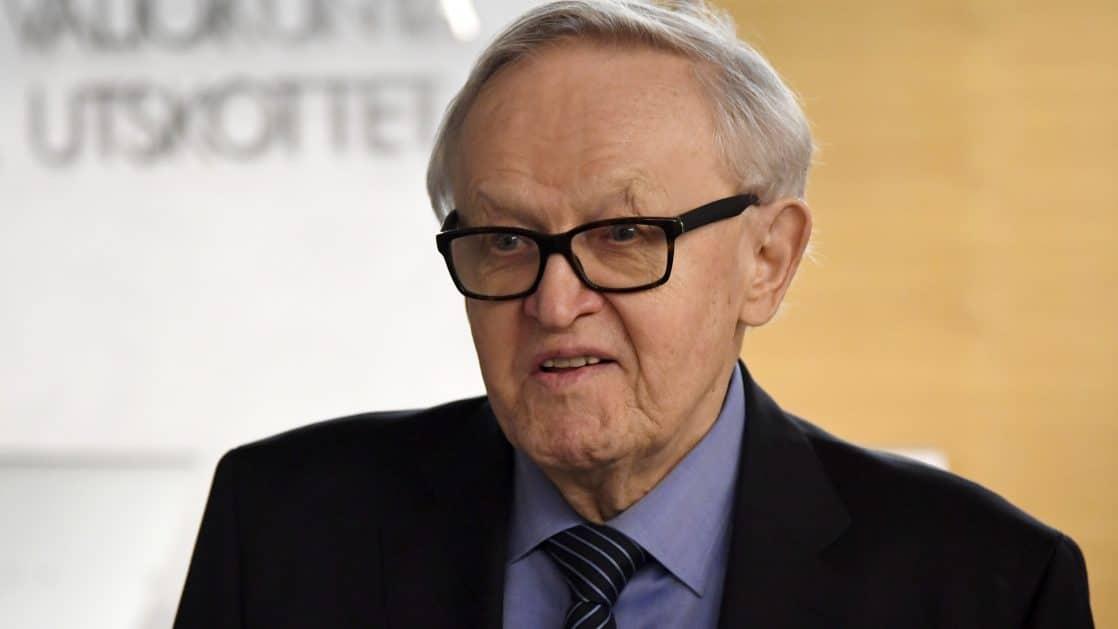 Martti Ahtisaari Kuollut