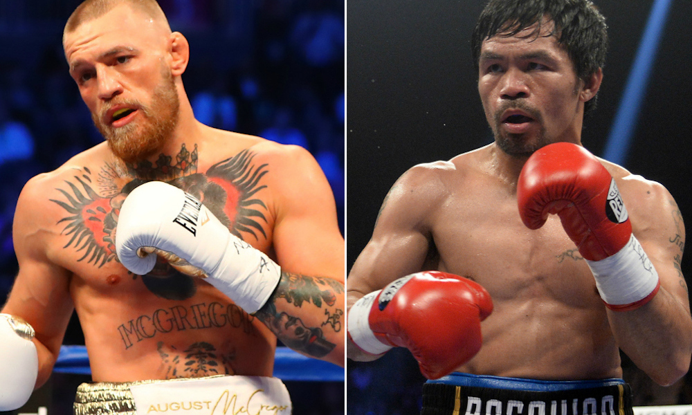 Boxe : Conor McGregor aurait l'intention de se battre dans un combat contre Manny Pacquiao