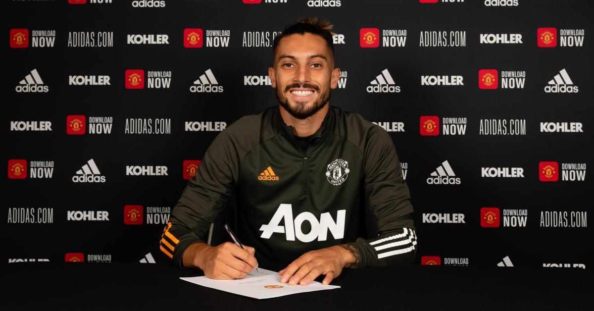 Alex Telles en approche — Man Utd